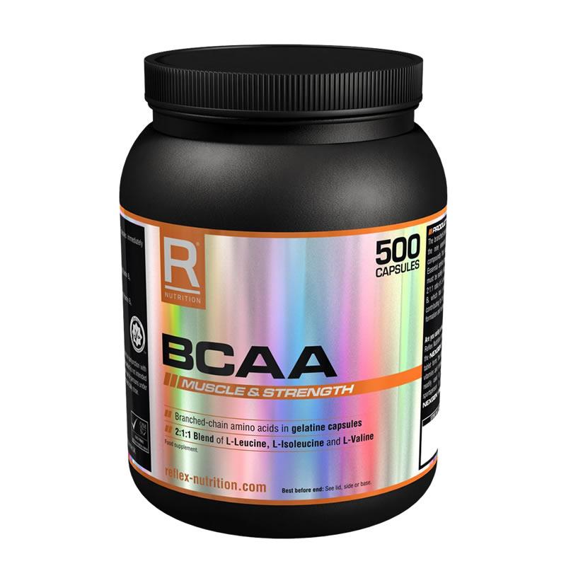 REFLEX  BCAA 500CAPS