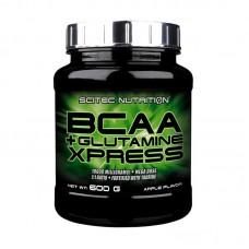 SCITEC NUTRITION BCAA XPRESS+GLUTAMINE 600GR