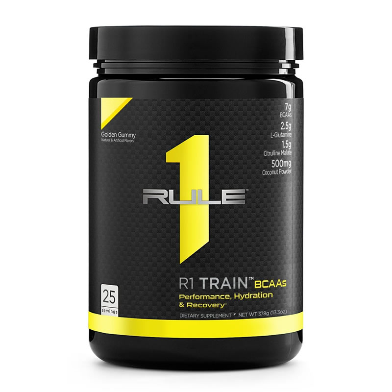 RULE1 TRAIN BCAAS 378GR 25SERVS