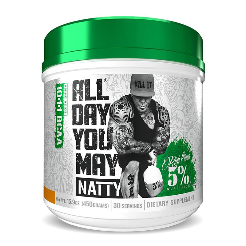 RICH PIANA 5% NUTRITION ALL DAY YOU MAY NATTY 450GR 30SERVS
