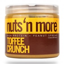 NUTS N MORE PEANUT BUTTER 450GR TOFFEE CRUNCH
