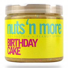NUTS N MORE PEANUT BUTTER 450GR BIRTHDAY CAKE