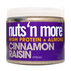 NUTS N MORE ALMOND BUTTER CINNAMON RAISIN 454GR