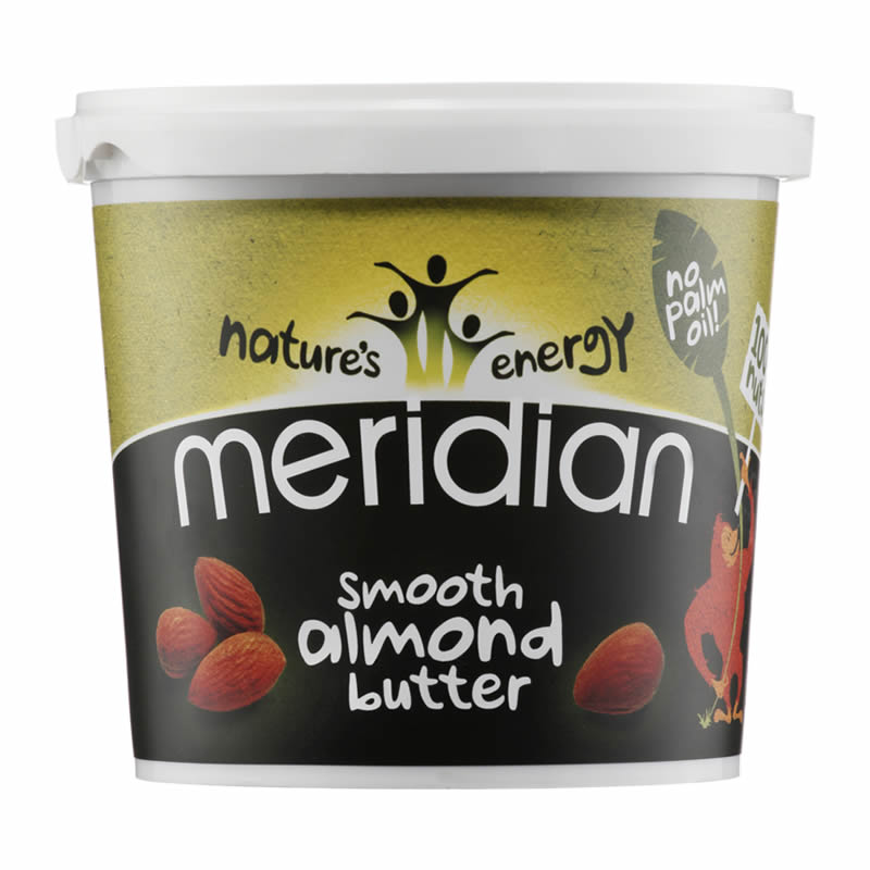 MERIDIAN SMOOTH ALMOND BUTTER 454GR