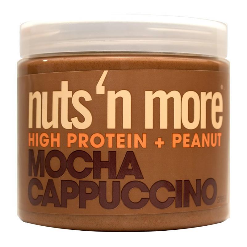 NUTS N MORE PEANUT BUTTER 450GR MOCHA CAPPUCCINO