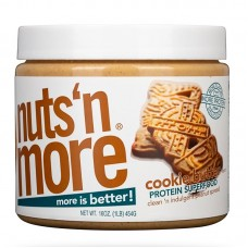NUTS N MORE COOKIE PEANUT BUTTER 450GR