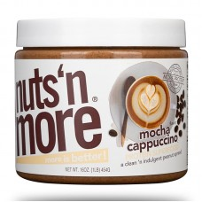NUTS N MORE PEANUT BUTTER 450GR MOCHA CAPPUCCINO