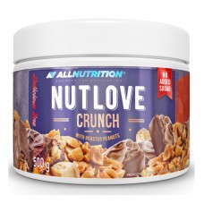 ALLNUTRITION NUTLOVE 500GR CRUNCH WITH ROASTED PEANUTS