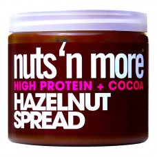 NUTS N MORE HAZELNUT PEANUT BUTTER 450GR