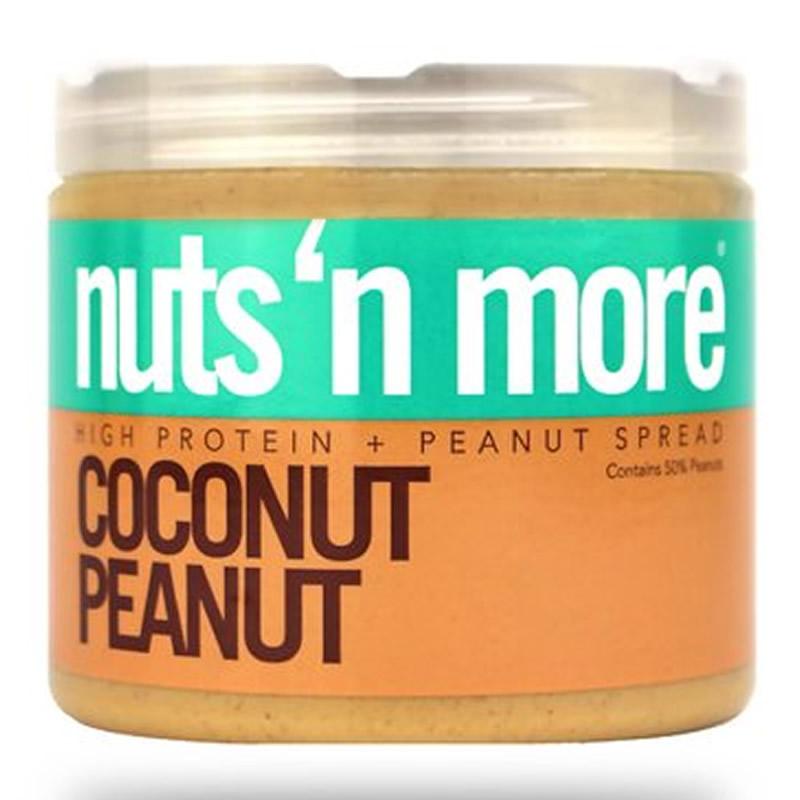 NUTS N MORE COCONUT PEANUT BUTTER 450GR