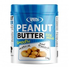 REAL PHARM PEANUT BUTTER SMOOTH 1000GR