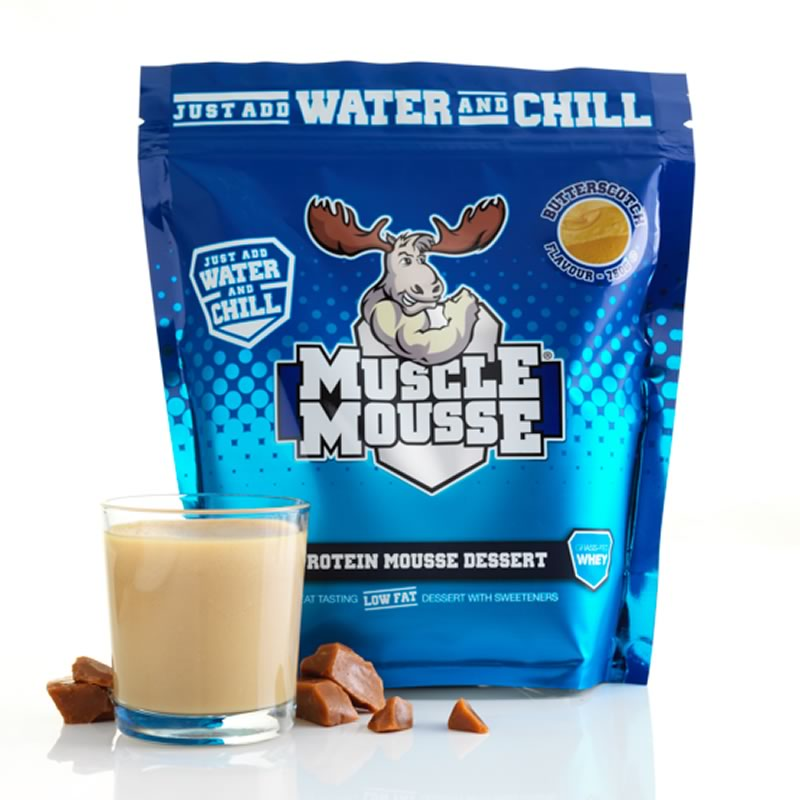 MUSCLE MOUSSE PROTEIN MOUSSE DESSERT 750GR
