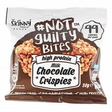 THE SKINNY FOODS NOΤ GUILTY CRISPIES 23GR - ΜILK CHOCOLATE