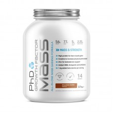PHD NUTRITION GROWTH FACTOR MASS 2100GR