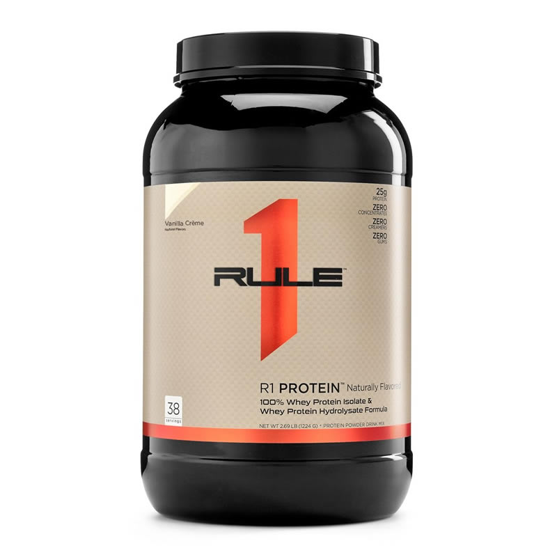 RULE1 R1 PROTEIN NATURALLY FLAVORED 2.5LBS 1160GR