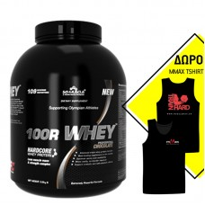 SCI-MUSCLE 100R WHEY 3500GR 109SERVS + ΔΩΡΟ T-SHIRT MMAX