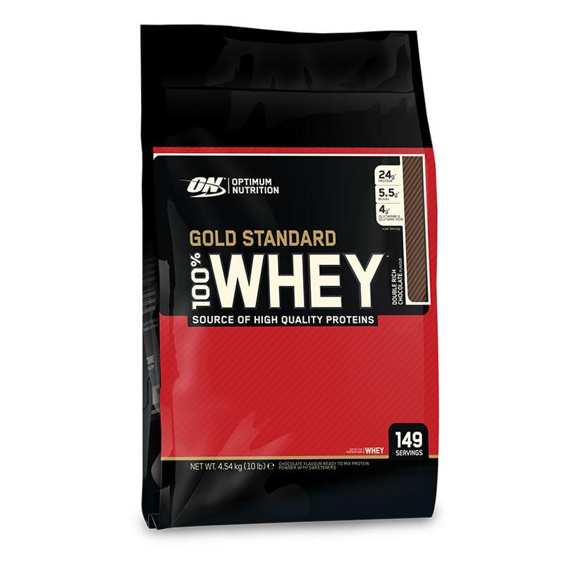 100% WHEY GOLD STANDARD 4545GR OPTIMUM NUTRITION