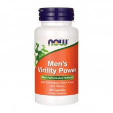 NOW FOODS MENS VIRILITY POWER 60VCAPS