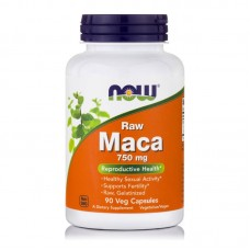 NOW FOODS RAW MACA 750MG 90VCAPS