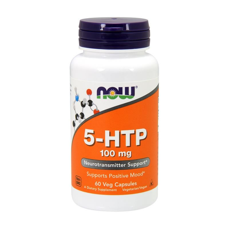 NOW FOODS 5-HTP 100MG 60VCAPS