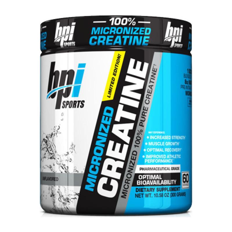 BPI SPORTS MICRONIZED CREATINE 300GR