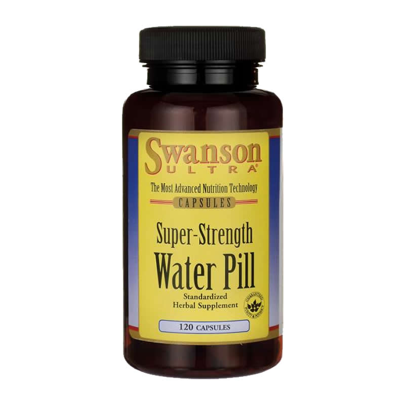 SWANSON SUPER STRENGHT WATER PILL 120CAPS
