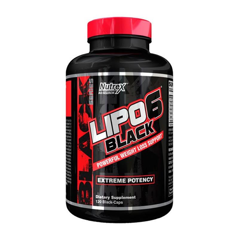 LIPO 6 BLACK 120CAPS NUTREX