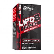 NUTREX LIPO-6 BLACK ULTRA CONCENTRATE 60CAPS