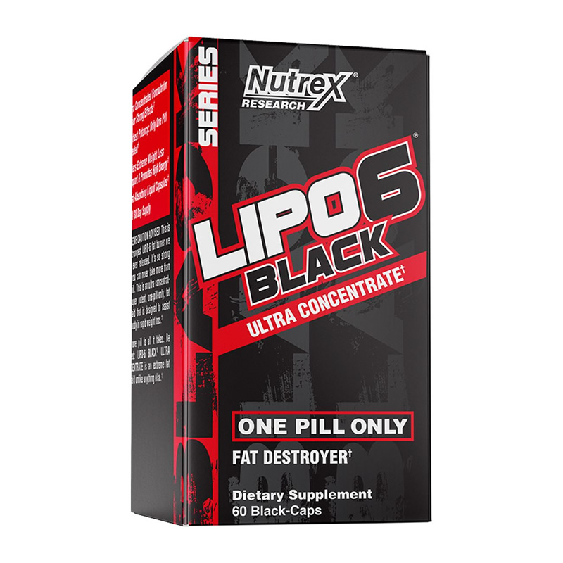 NUTREX LIPO-6 BLACK ULTRA CONCENTRATE 60CAPS