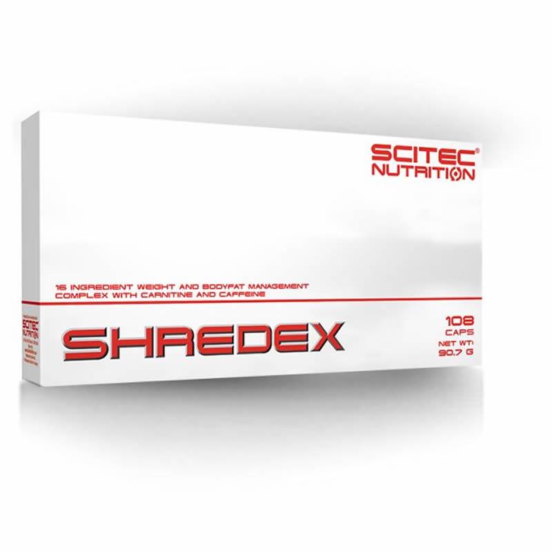 SCITEC NUTRITION SHREDEX 108CAPS 36SERVS