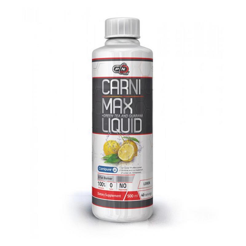 PURE NUTRITION CARNI MAX LIQUID +GREEN TEA-GUARANA