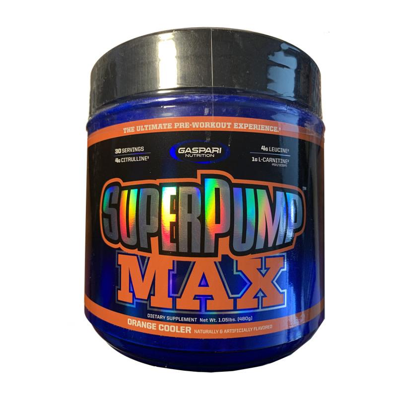 GASPARI SUPER PUMP MAX 480GR 30SERVS