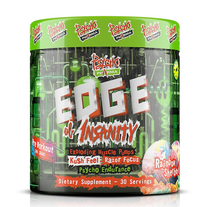 EDGE OF INSANITY 30SERVS PSYCHOPHARMA