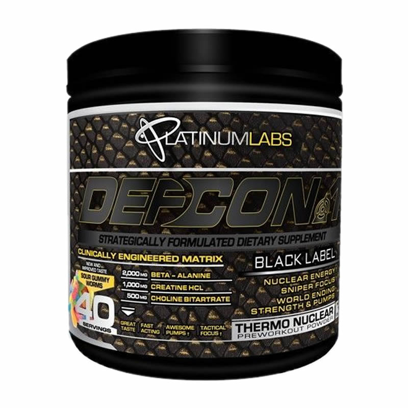 PLATINUM LABS DEFCON1 BLACK LABEL 40SERVS - 328 GR