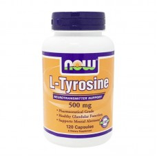 NOW FOODS L-TYROSINE 500MG 120CAPS