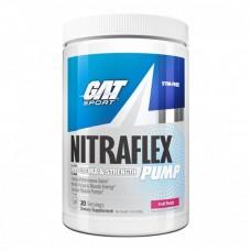 GAT NITRAFLEX PUMP STIM FREE 284GR 20SERVS