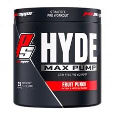 PRO SUPPS HYDE MAX PUMP 280GR 25SERVS