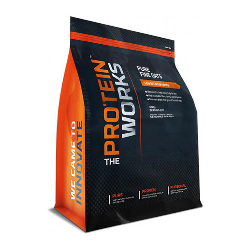 The Protein Works PURE FINE OATS 2KG CHOCOLATE