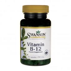 SWANSON VITAMIN B12 500MCG 100CAPS