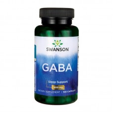 SWANSON GABA 500MG 100 CAPS