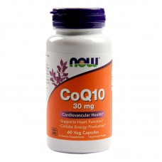 Now Foods CoQ10 30mg 120Vcaps