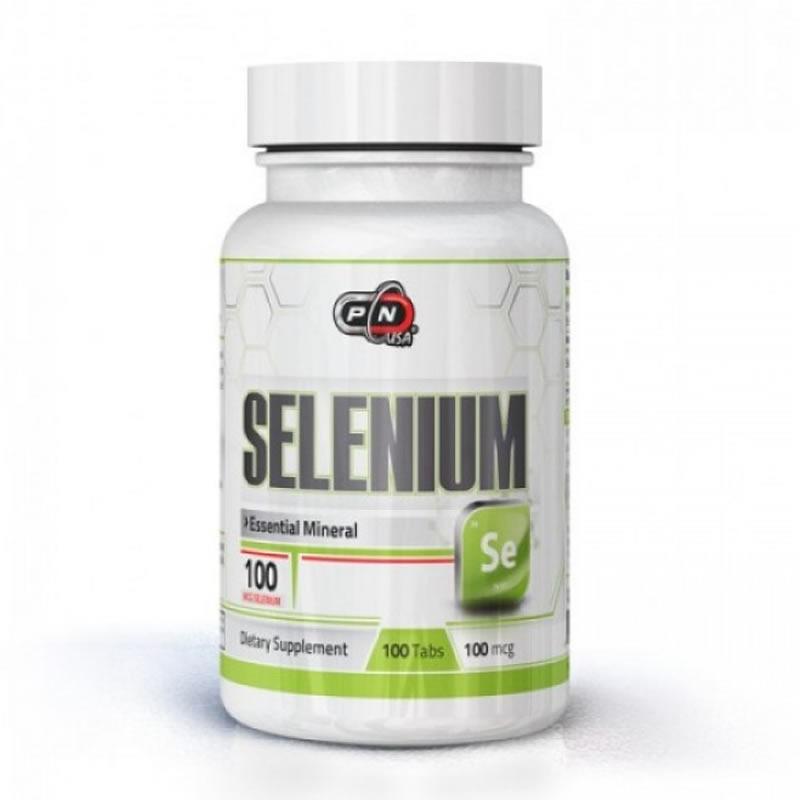 PURE NUTRITINO SELENIUM 100MCG 100TABS