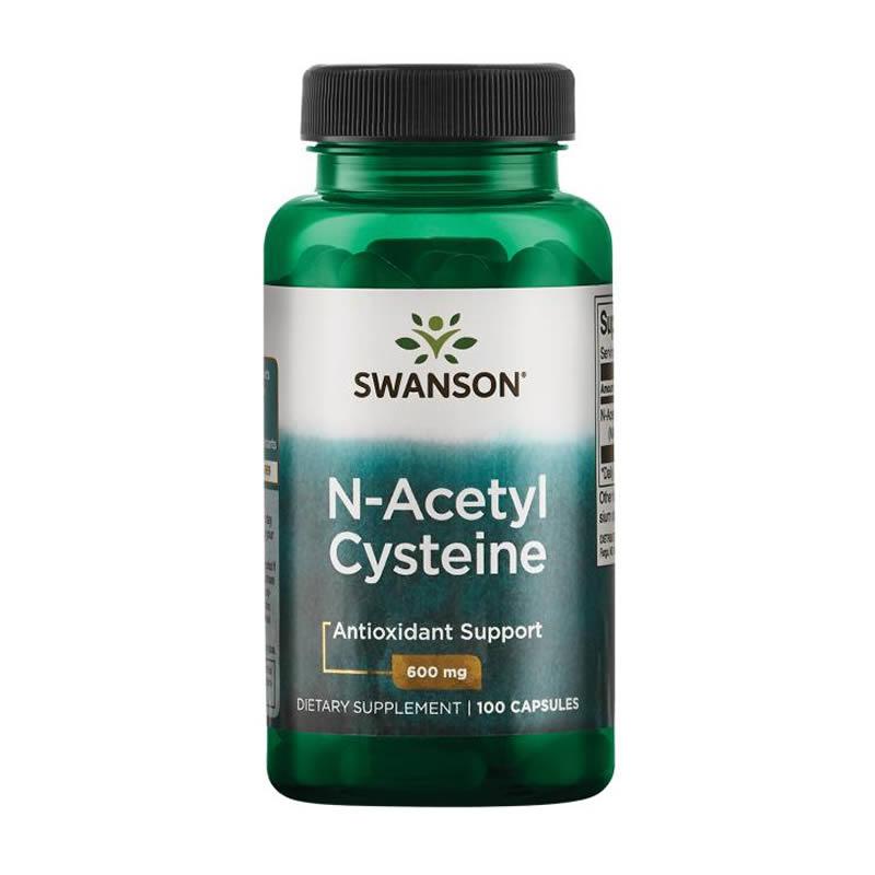 SWANSON NAC N-ACETYL-CYSTEINE 600MG 100CAPS