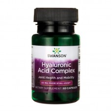 SWANSON HYALOURONIC ACID COMPLEX 33MG 60VCAPS