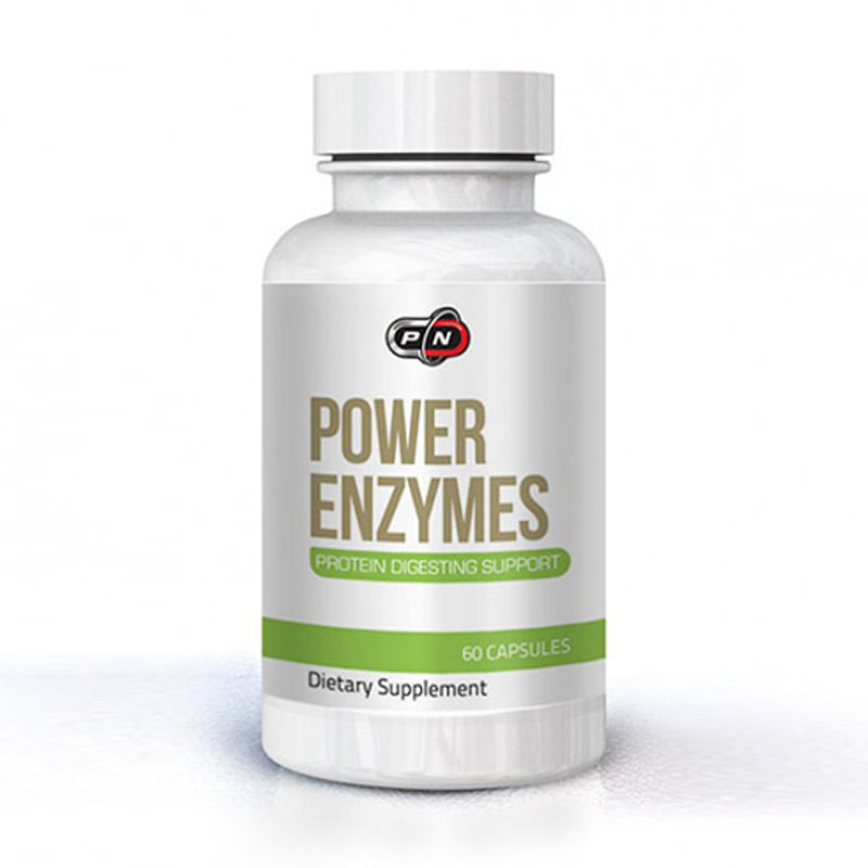 PURE NUTRITION POWER ENZYMES 60CAPS
