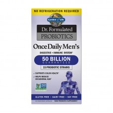 GARDEN OF LIFE DR.FORMULATED PROBIOTICS ONCE DAILY MEN'S 30VCAPS