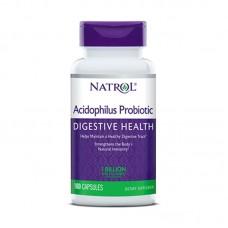 NATROL ACIDOPHILUS PROBIOTIC 100MG 100CAPS