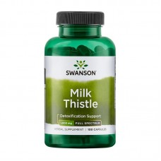 SWANSON MILK THISTLE 500MG 100CAPS