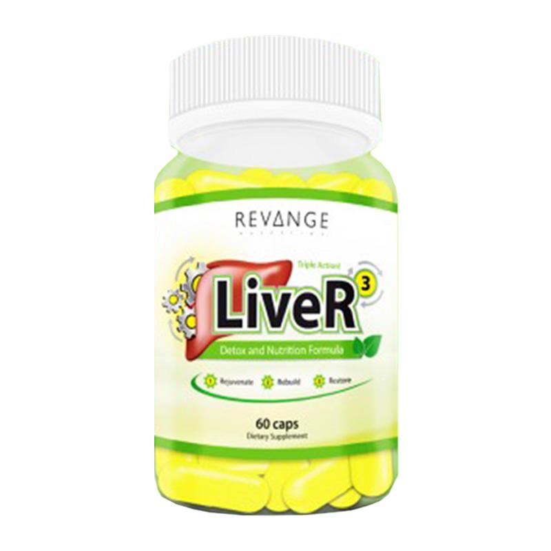 LIVER 60CAPS REVANGE NUTRITION