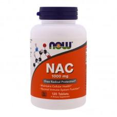 NOW FOODS NAC N-ACETYL CYSTEINE 1000MG 120TABS